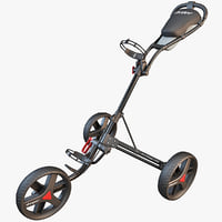 lwo golf trolley cart