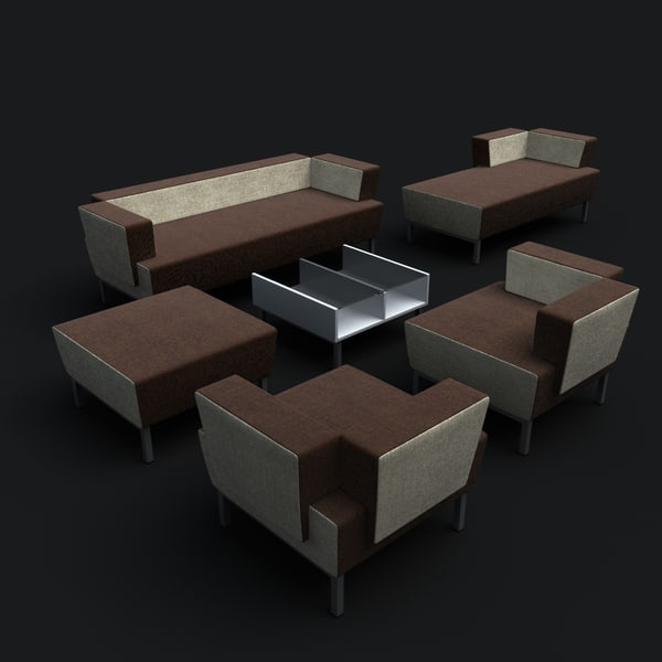 sofa armchair 3d max - Sofa Vario... by vgreso