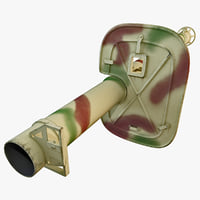 3ds panzerschreck 54 rocket launcher