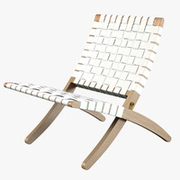 3d obj mg501 cuba lounge chair