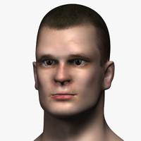 man head 3 max