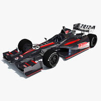 3ds max izod indycar race car