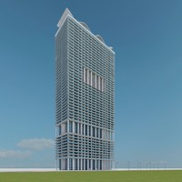 3d model new skyscraper 04