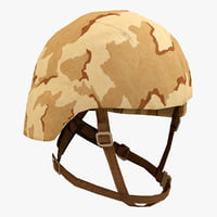 3d model combat helmet 3
