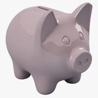 piggy bank pig 3d 3ds