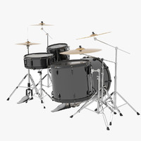 basic drum kit obj