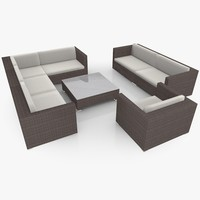 maya garden lounge furniture set