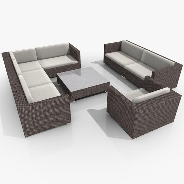 maya garden lounge furniture set