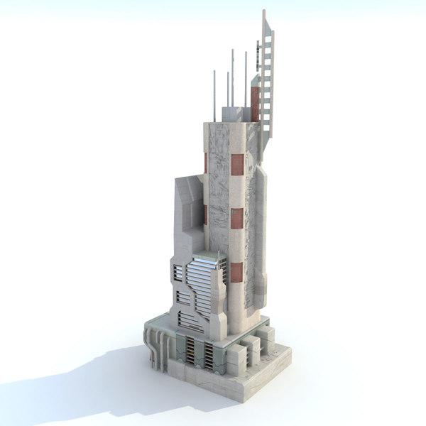 Scifi Futuristic Building