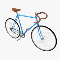 3ds max fixed gear bicycle
