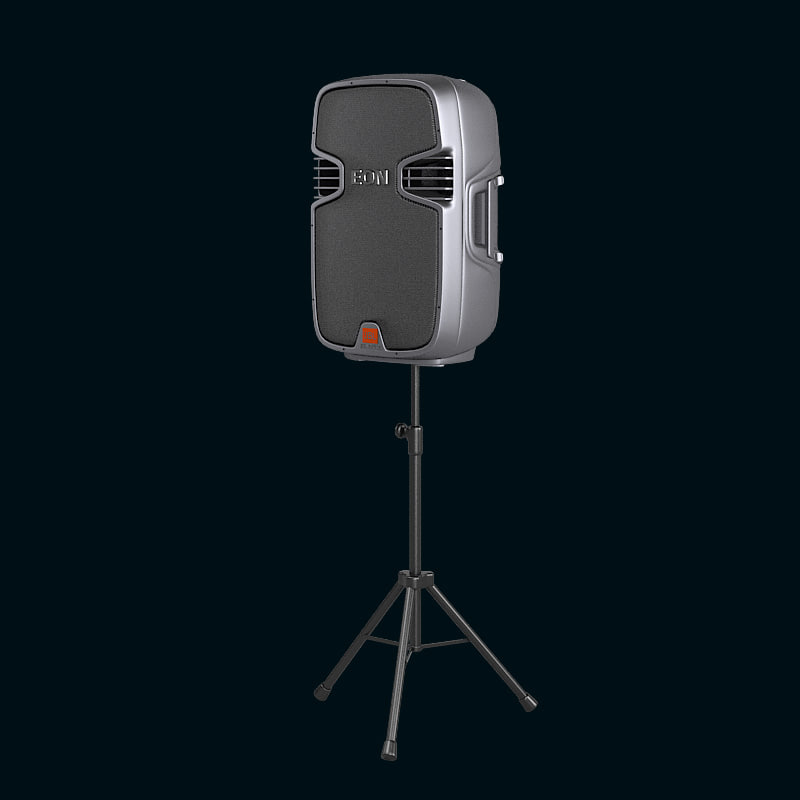 B JBL EON 315 Portable Self-Powered Two-Way Bass Reflex Design Speaker Professional hi-fi loudspeakers  dj Tripod stand clun equipment.jpg