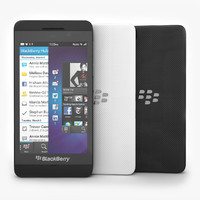 Blackberry Z10 Smartphone Black and White