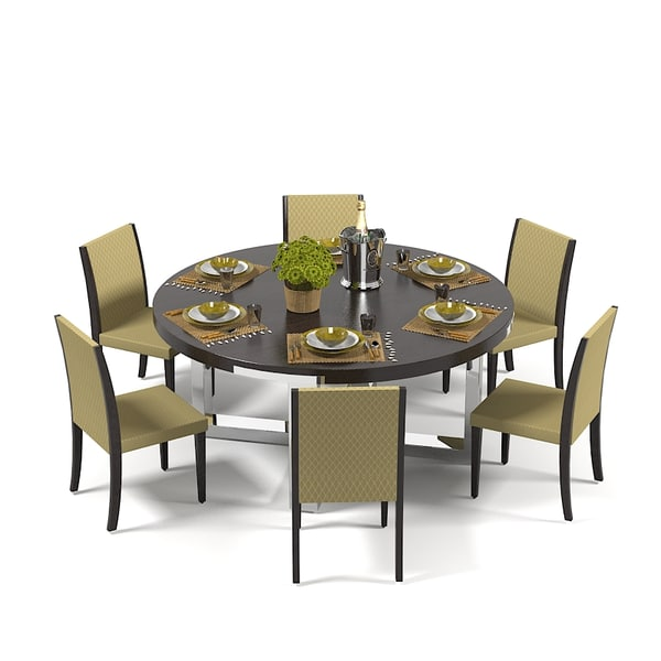 3d misuraemme dining table set model for Table 6 3 asce 7 05