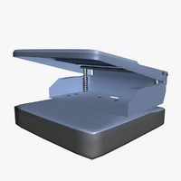 3ds max paper perforator