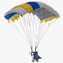 Skydiving 3D models