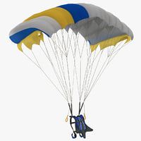Skydiving 3D models
