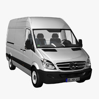 MB Sprinter Panel Van 2012