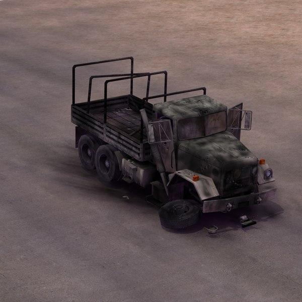 maya abandoned truck