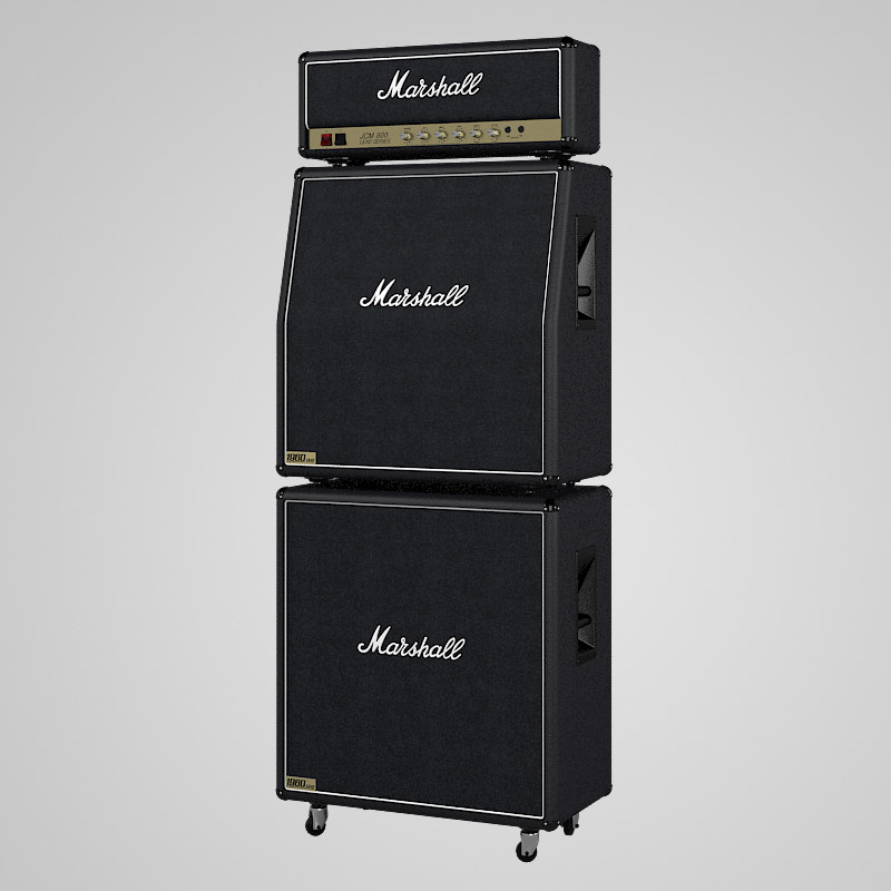 b  Marshall JCM 800 The Full Stack Guitar Speaker Cabinet Celestion rock stage iconic amp amplifier combo head concert audio power.jpg