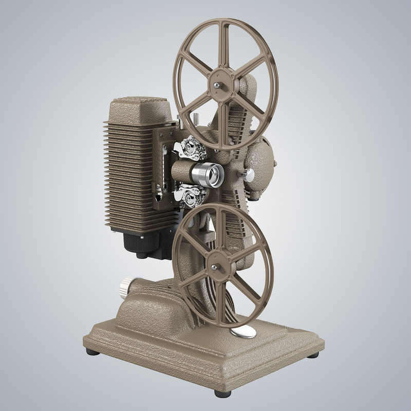 b Revere Model 85 8mm Film Projector 1950's vintage antique retro movie tape camera reel0001.jpg