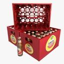 beer crate 3D models