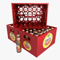 beer crate 3D models