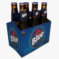 Six Pack of Labatt Blue