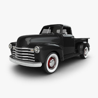 chevrolet truck 1948 3d max