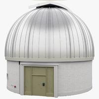 3d infrared observatory 2 model