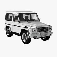 g class short wheelbase 3d model