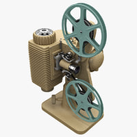 Old Movie Projector Revere 85 8mm