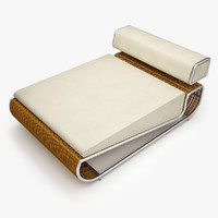 3d model tambao daybed