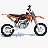 ktm motocross bike model