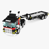 truck trailer lego set 5590