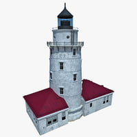 3d 3ds lighthouse 5