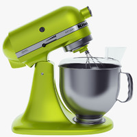 3d kitchen aid mixer model