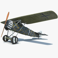 3d max fokker fighter