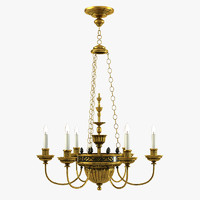 3d vaughan cheverny chandelier