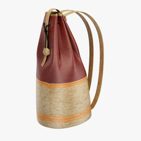 pack bag 3d model