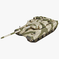 brazilian ee-t1 battle tank 3d 3ds