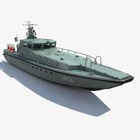 patrol boat interceptor 16 3d max