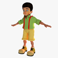 Kid Boy Cartoon