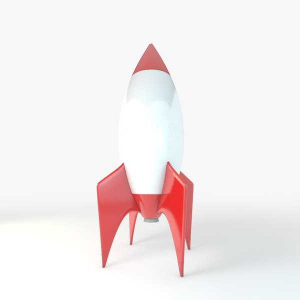 maya cartoon rocket - Cartoon Rocket... by mrviz
