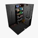 Janitorial Closet 3D models