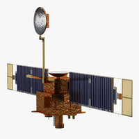 Mars Global Surveyor Satellite