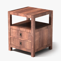 lightwave end table wood