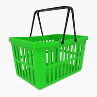 3d max basket shopping