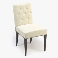 3d baker st germain chair