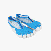 Vibram Five Fingers Shoes Blue