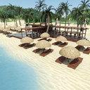 beach 3D models